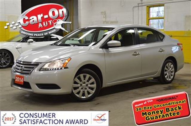 2014 Nissan Sentra 1.8 S AUTOMATIC A/C  CRUISE BLUETOOTH in Ottawa, Ontario