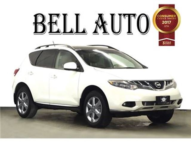 2011 Nissan Murano LE NAVIGATION LEATHER SUNROOF in Toronto, Ontario