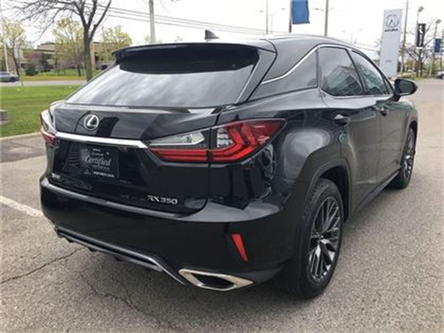 2016 lexus rx 350 f sport nav vdim moonroof brampton ontario car for sale 2771483. Black Bedroom Furniture Sets. Home Design Ideas
