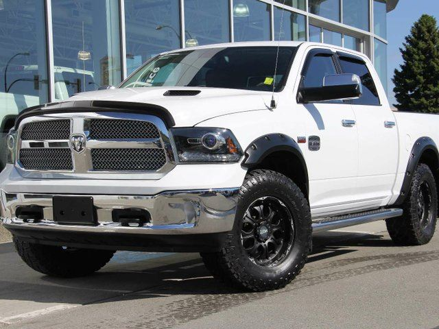 2013 DODGE RAM 1500 Certified | Laramie Longhorn | Navigation | Rear Vision Camera | Heated & Cooled Front Seats | 5.7L Hemi Engine in Kamloops, British Columbia