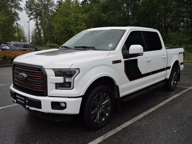 2016 FORD F-150 Lariat 4x4 SuperCrew Cab Styleside 5.5 ft. box 145 in. WB in Surrey, British Columbia