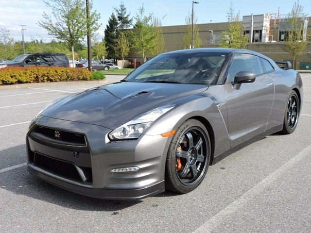 2015 NISSAN GT-R Black Edition 2dr All-wheel Drive Coupe in Surrey, British Columbia