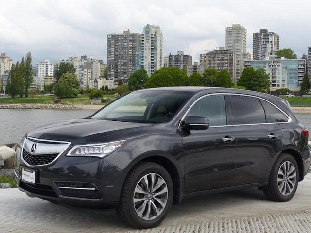 2015 acura mdx tech at vancouver british columbia car for sale 2771207. Black Bedroom Furniture Sets. Home Design Ideas