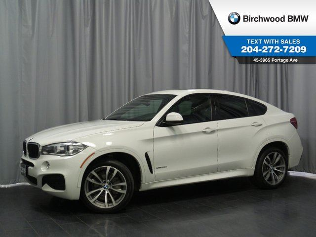 2015 BMW X6 xDrive35i M Performance Package I, M Sport Package, ConnectedDriveServices & Premium Package! in Winnipeg, Manitoba