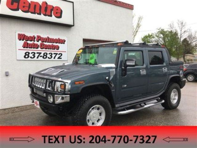 2006 HUMMER H2 Base in Winnipeg, Manitoba