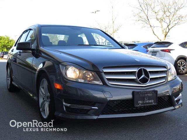 2013 MERCEDES-BENZ C-CLASS Base 4Matic in Richmond, British Columbia