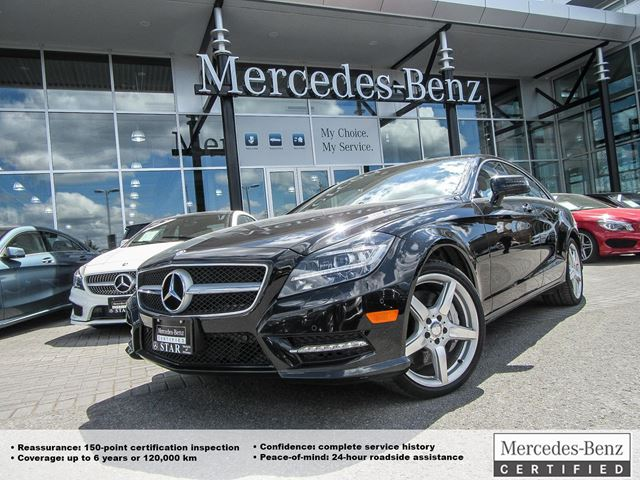 2013 Mercedes-Benz CLS550 4MATIC Coupe in Ottawa, Ontario