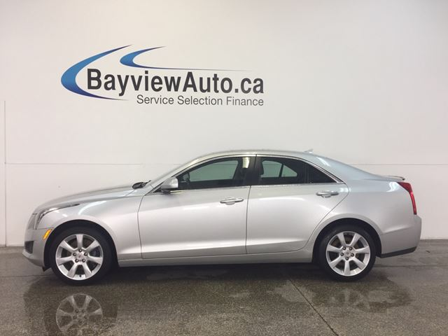 2014 CADILLAC ATS - AWD! TURBO! HEATED LEATHER! ON STAR! CRUISE! in Belleville, Ontario