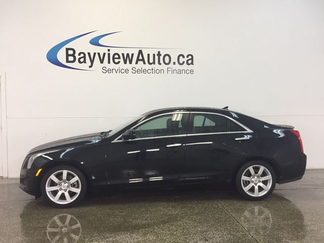 2014 CADILLAC ATS - 2.5L! PUSH START! LEATHER! ON STAR! BOSE! A/C! in Belleville, Ontario