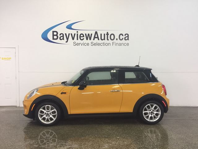2016 MINI COOPER - TWIN TURBO! PANOROOF! BLUETOOTH! in Belleville, Ontario