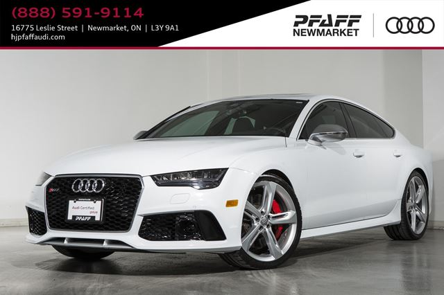 2016 AUDI RS7 4.0T Certified Pre-Owned in Newmarket, Ontario
