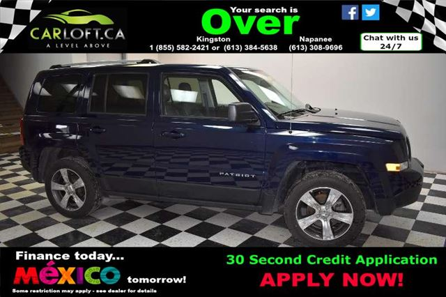 2016 JEEP PATRIOT HIGH ALTITUDE 4X4 - CRUISE**SUNROOF**LEATHER in Kingston, Ontario