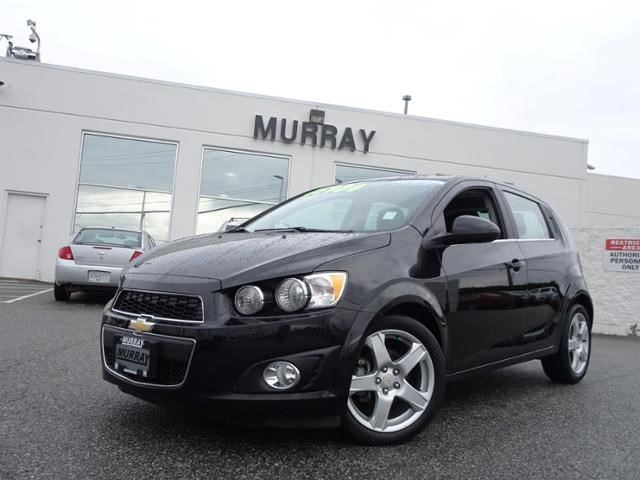 2016 CHEVROLET SONIC LT in Abbotsford, British Columbia