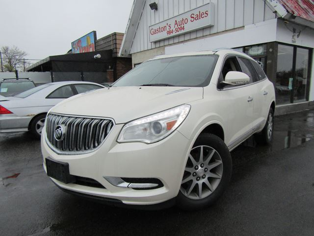 2013 BUICK ENCLAVE HEATED LEATHER! BACKUP CAM!  in St Catharines, Ontario