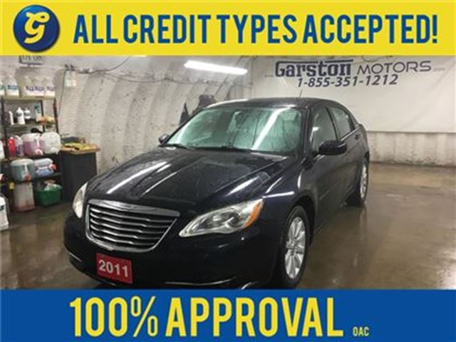 2011 CHRYSLER 200 TOURING*V6*POWER SUNROOF*REMOTE START*U CONNECT PH in Cambridge, Ontario
