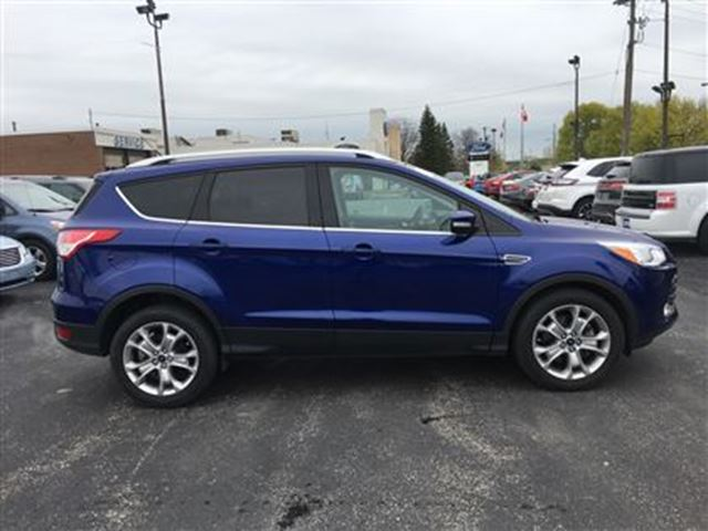 2015 Ford Escape Titanium FWD  LEATHER  BLUETOOTH  SUNROOF in Waterloo, Ontario