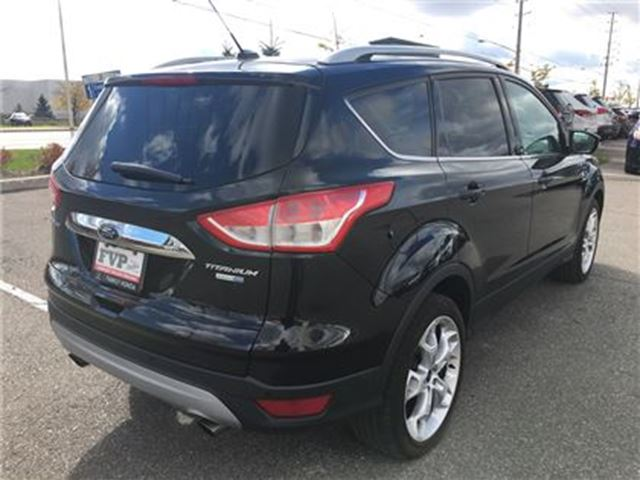 2014 ford escape titanium brampton ontario car for sale 2771901. Black Bedroom Furniture Sets. Home Design Ideas