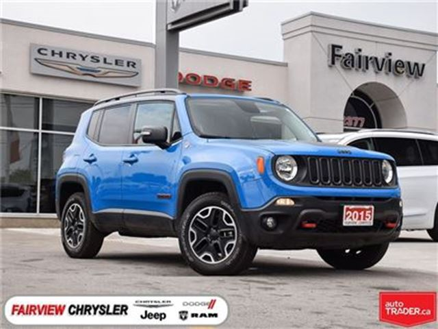 Used 2015 Jeep Renegade 2 40 Trailhawk Fully Loaded