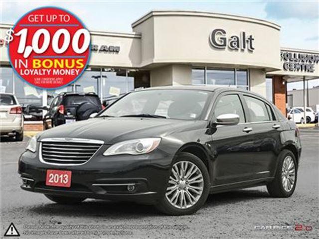 2013 CHRYSLER 200 LIMITED   ONLY $104 BI-WEEKLY* in Cambridge, Ontario