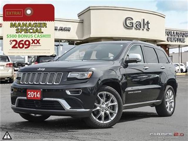 2014 JEEP GRAND CHEROKEE Summit in Cambridge, Ontario