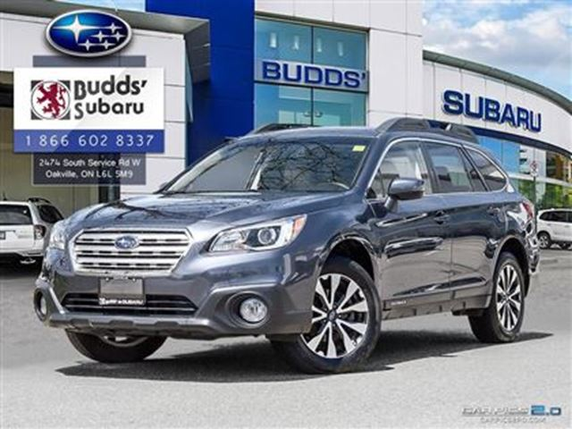 2015 SUBARU OUTBACK 2.5i Limited at - Leather, GPS, Sunroof in Oakville, Ontario