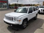 2017 Jeep Patriot High Altitude-4WD, Leather Heated Seats, Sunroof in Okotoks, Alberta