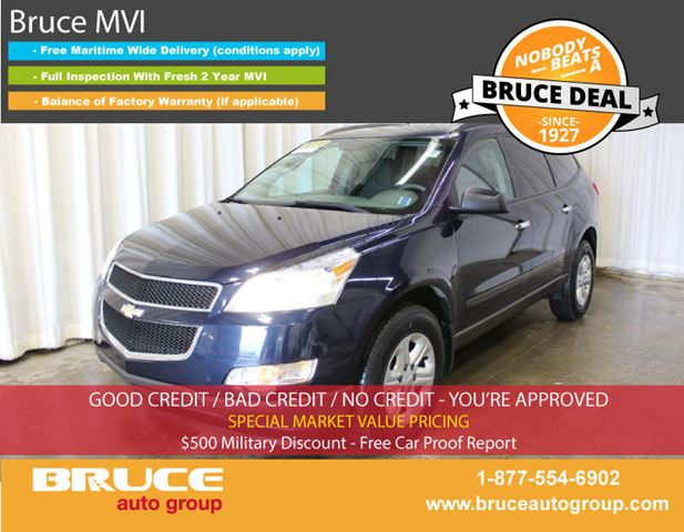 2011 CHEVROLET TRAVERSE LS 3.6L 6 CYL AUTOMATIC FWD in Middleton, Nova Scotia