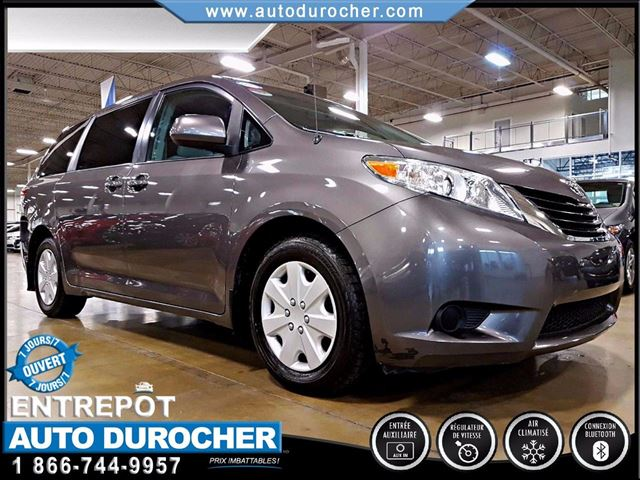 2013 Toyota Sienna CAMn++RA DE RECUL, PORTES COULISSANTES n++LECTRIQUES in Laval, Quebec