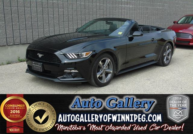 2016 Ford Mustang *Convertible in Winnipeg, Manitoba
