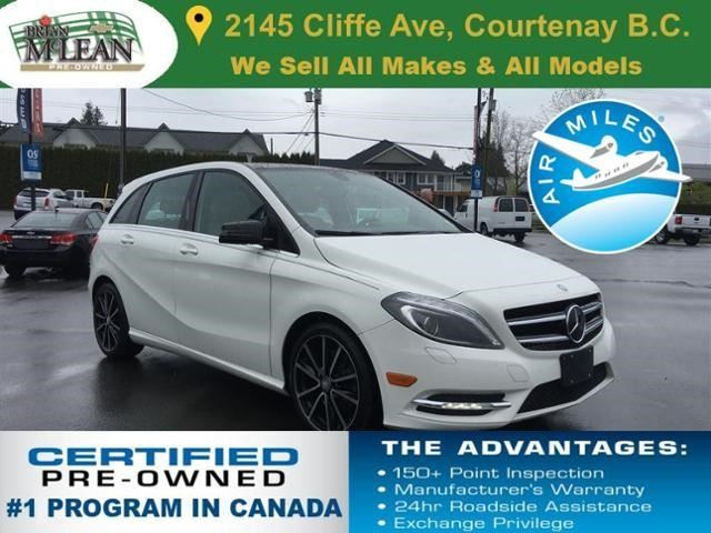 2013 Mercedes-Benz B-Class B250 Sports Tourer in Courtenay, British Columbia