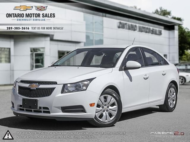 used 2014 chevrolet cruze 4 cy 1lt oshawa. Black Bedroom Furniture Sets. Home Design Ideas