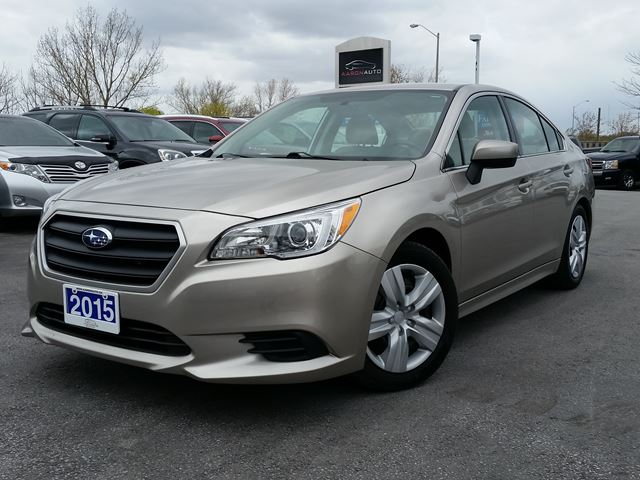 2015 SUBARU LEGACY 2.5i-AWD-4 DOOR SEDAN-HEATED SEATS-BLUETOOTH in Belleville, Ontario