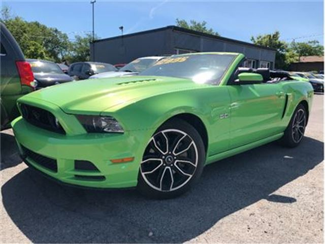 2014 Ford Mustang GT! GOTTA HAVE IT GREEN!!!! in St Catharines, Ontario