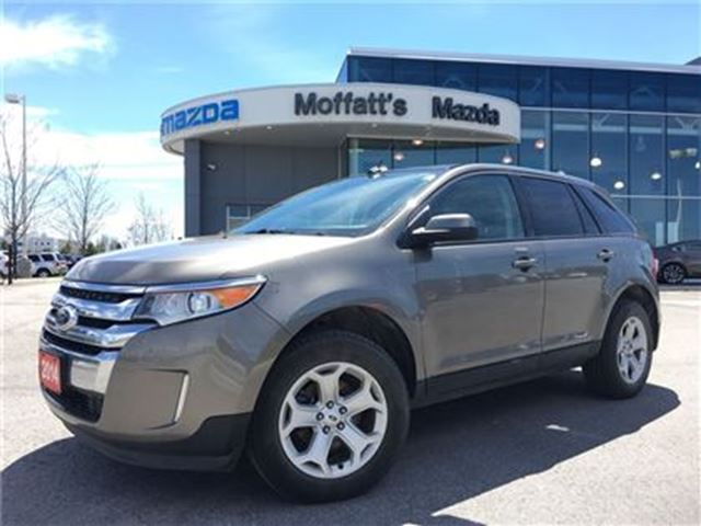 2014 FORD EDGE SEL AWD LEATHER, HEATED SEATS in Barrie, Ontario