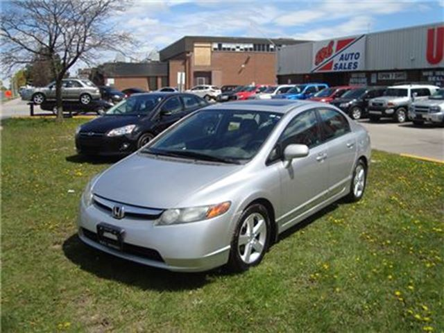 2008 Honda Civic LX ~ ALLOY WHEELS ~ AUTOMATIC ~ CERTIFIED ~ in Toronto, Ontario