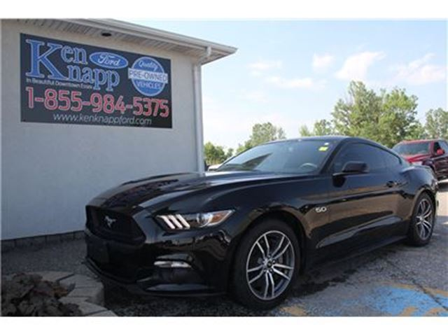 2015 Ford Mustang GT LEATHER NAV SYNC AUTO in Essex, Ontario