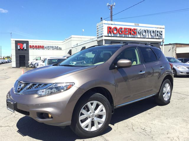 2013 NISSAN MURANO SL AWD - LEATHER - PANO ROOF in Oakville, Ontario