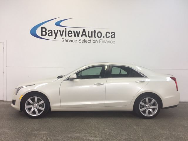 2014 CADILLAC ATS - 2.5L! PUSH START! HEATED LEATHER! BOSE! CRUISE! in Belleville, Ontario