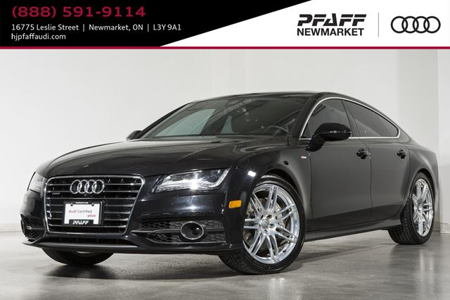 2014 AUDI A7 3.0 Technik Certified Pre-Owned in Newmarket, Ontario