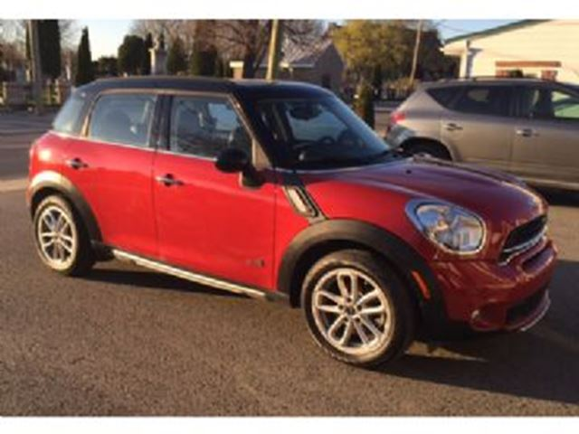 2015 MINI COOPER Countryman ALL4 S Paddle Shifters Maintenance Plan in Mississauga, Ontario