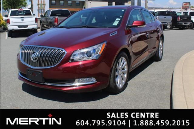 2016 BUICK LACROSSE Leather in Chilliwack, British Columbia
