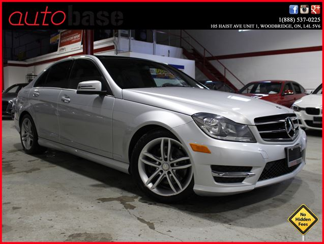 2014 MERCEDES-BENZ C-CLASS C300 4MATIC PANORAMIC ROOF  in Woodbridge, Ontario