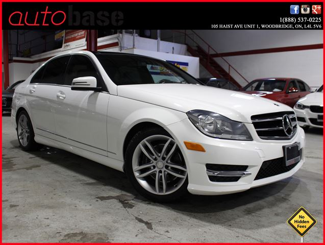 2014 MERCEDES-BENZ C-CLASS C300 4MATIC PANORAMIC ROOF | CLEAN CARPROOF in Woodbridge, Ontario