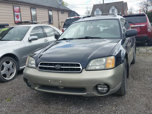 2002 SUBARU LEGACY Outback w/All Weather Pkg in Oshawa, Ontario