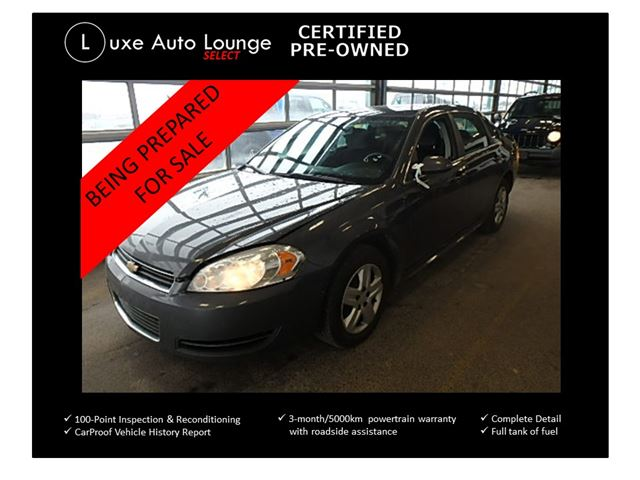 2010 Chevrolet Impala LS - POWER SEAT, POWER GROUP, CRUISE, KEYLESS ENTRY, LUXE SELECT CERTIFIED PRE-OWNED! in Orleans, Ontario