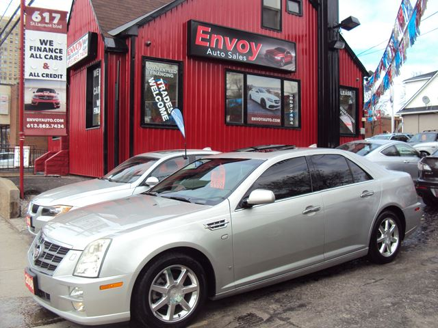 2008 CADILLAC STS NAVIGATION!!BLUETOOTH!!COOLING SEATS!! in Ottawa, Ontario