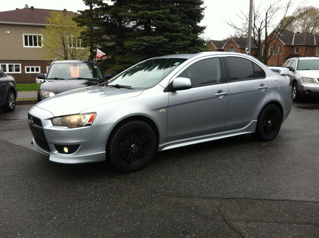 2008 mitsubishi lancer gts auto loaded sun roof ottawa. Black Bedroom Furniture Sets. Home Design Ideas