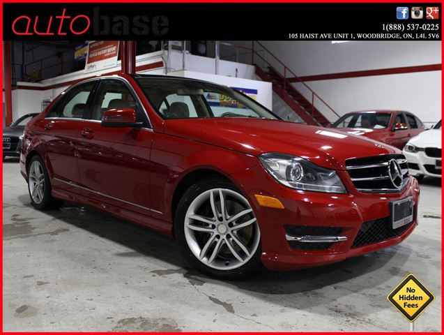 2014 MERCEDES-BENZ C-CLASS C300 4MATIC NAVI | DRIVING ASSIST | PANORAMIC | XENON  in Woodbridge, Ontario