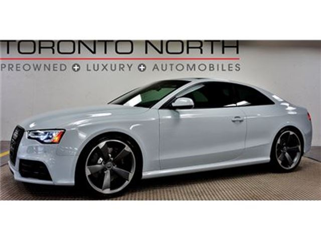 2013 AUDI RS5 4.2 (S tronic) NO ACCIDENT in Toronto, Ontario