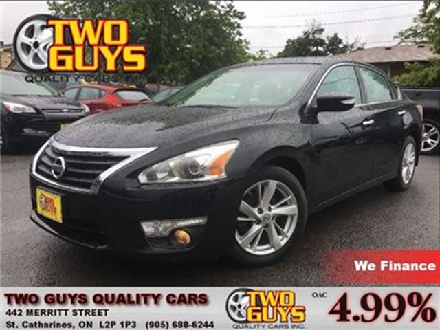 2013 NISSAN ALTIMA 2.5L Leather   Sunroof   Bose Audio   Great Mileag in St Catharines, Ontario